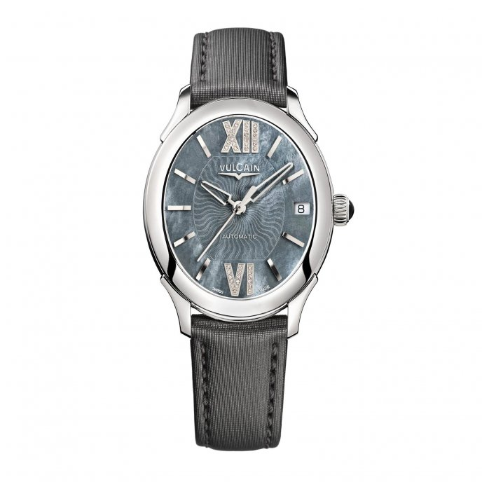 Vulcain First Lady Automatic 610164N1S.BAS413 Watch-face-view