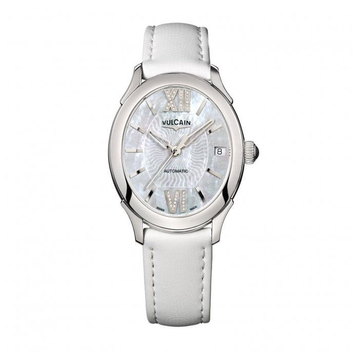Vulcain First Lady Automatic 610164N2S.BAS412 Watch-face-view