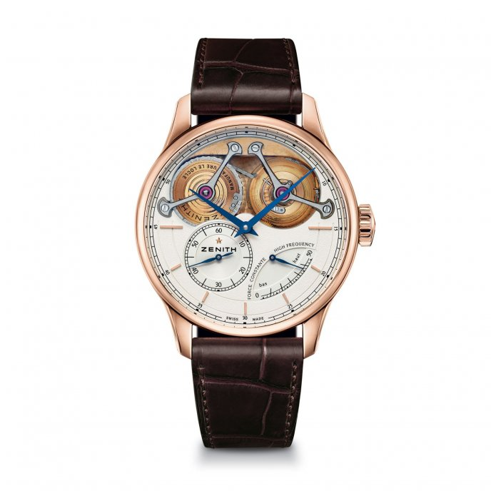 Zenith Academy Georges Favre-Jacot watch front view