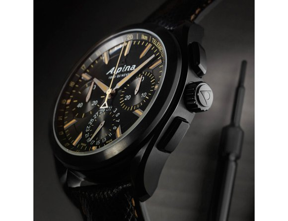Alpina-Alpiner-4-Manufacture-Flyback-Chronograph-Black