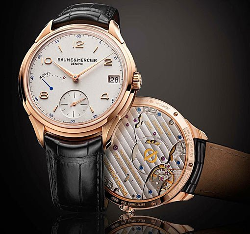 Baume & Mercier Clifton 8 Day Power Reserve
