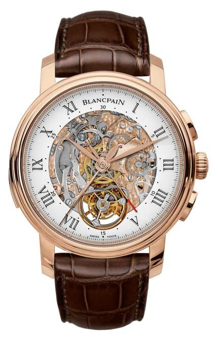 Blancpain - Le Brassus, Carrousel Minute Repeater Flyback Chronograph
