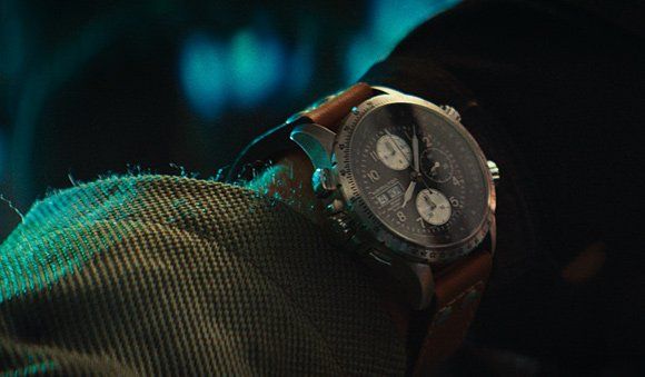 Hamilton Khaki X-Wind on Jake Morrison in Independence Day Resurgence