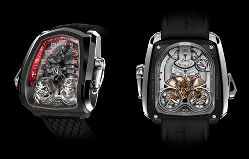 Twin Turbo Triple-AxTwin Turbo Triple-Axis Double Tourbillon Minute Repeateris Double Tourbillon Minute Repeater