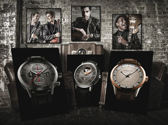 Raymond Weil music special editions