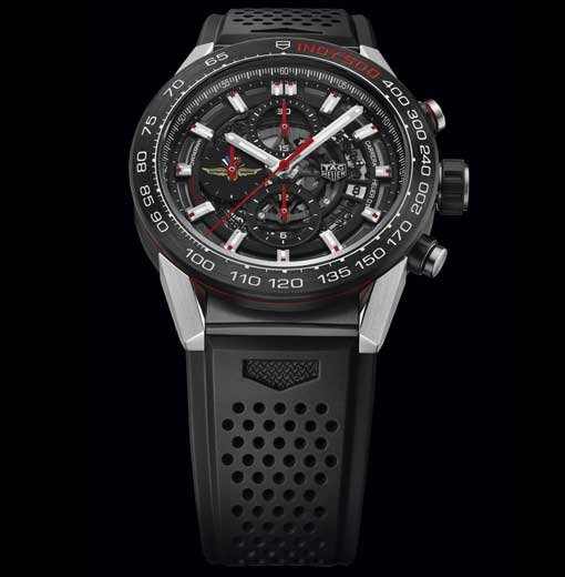 The Carrera Heuer 01 - Indy 500 Special edition