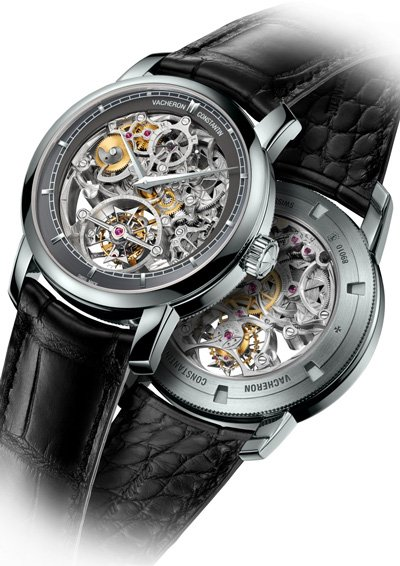 Patrimony Traditionnelle Tourbillon 14 Jours Squelette