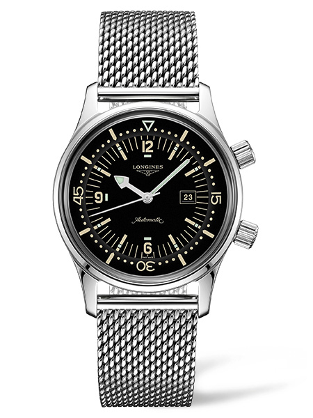 New models join The Longines Legend Diver Watch line