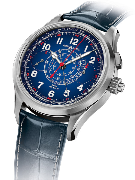 1858 Split Second Chronograph Only Watch 2019
