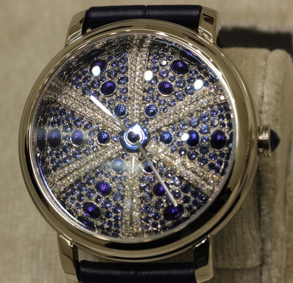 Boucheron Epure d'Art Oursin Bleu