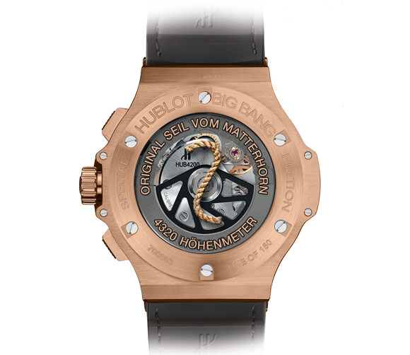 Hublot Big Bang Zermatt back
