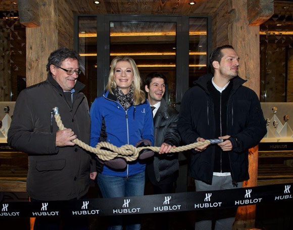 Hublot Boutique Zermatt Official Opening