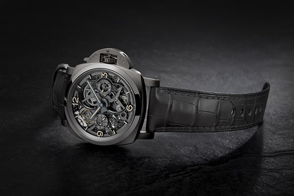 Lo Scienziato - Luminor 1950 Tourbillon GMT Titanio